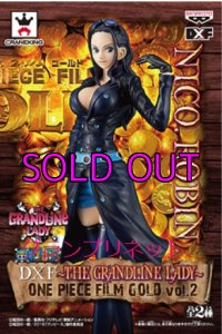 ワンピース DXF〜THE GRANDLINE LADY ONE PIECE FILM GOLD vol.2 ロビン